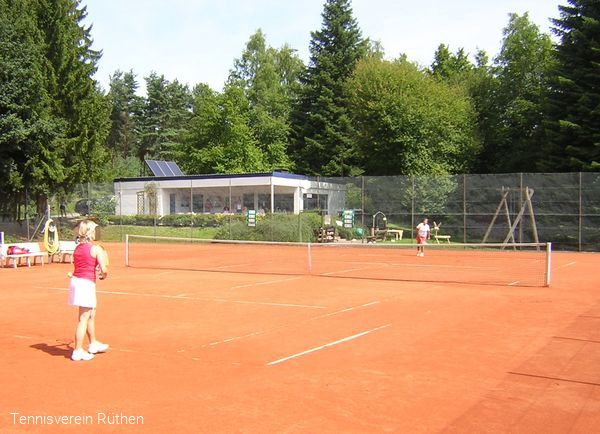 Tennisanlage in Rüthen